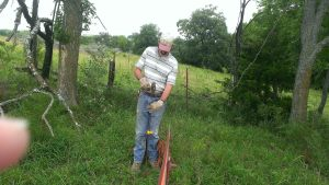 July 18, 2014 running hot wire to keep bull on our side of fence, found some other good pictures (3)