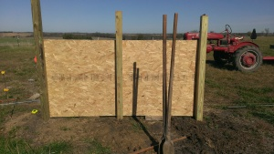 November 1, 2014 Starting the new calf shed (18)