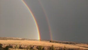 December 15, 2014 Beautiful Rainbow  8-17 to 8-18am (1)