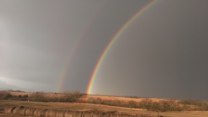 December 15, 2014 Beautiful Rainbow  8-17 to 8-18am (3)