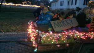 November 28, 2014 Holton's lighted Christmas Parade  (1)