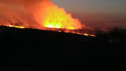 March 11, 2015 Burning the CRP land to the east (16)