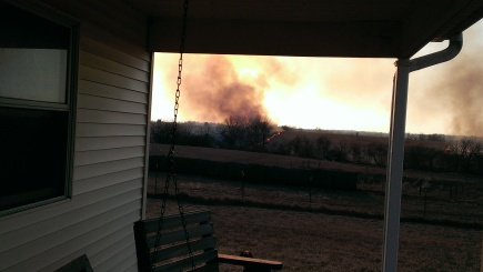 March 11, 2015 Burning the CRP land to the east (6)