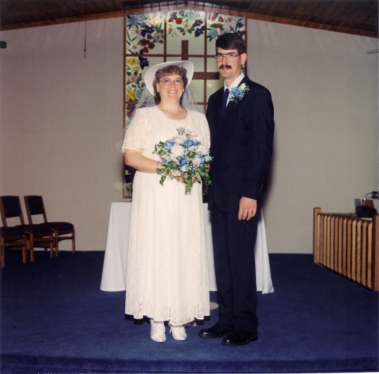 May 16, 1998 Some of our wedding pics (1)