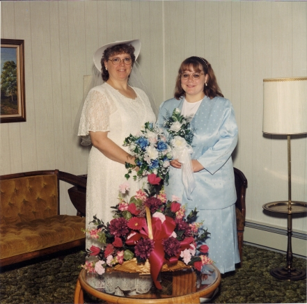 May 16, 1998 Some of our wedding pics (2)